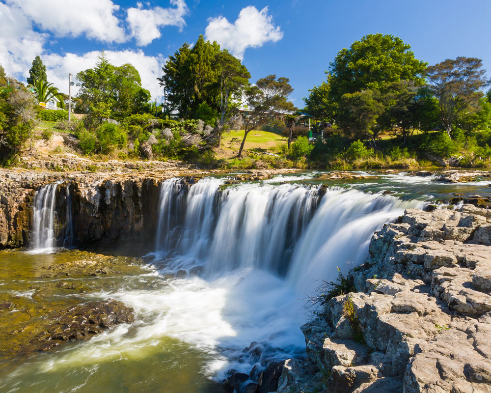 Take It Easy While Camping With These Tips Haruru-Falls-at-Paihia-Northland-North-Island-of-New-Zealand