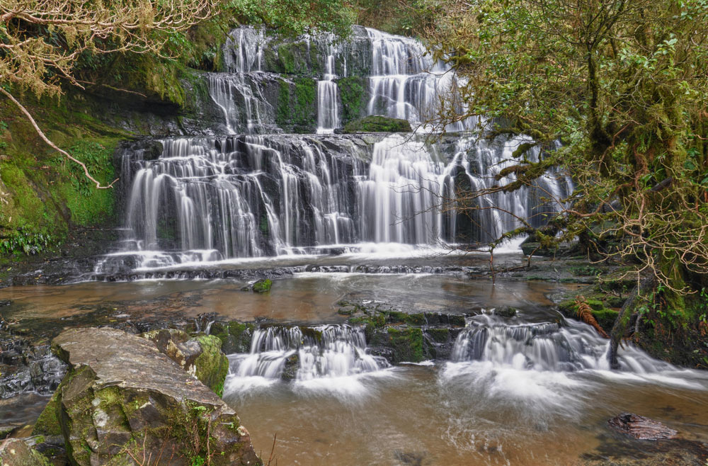 purakaunui-falls-in-the-catlins-new-zealand