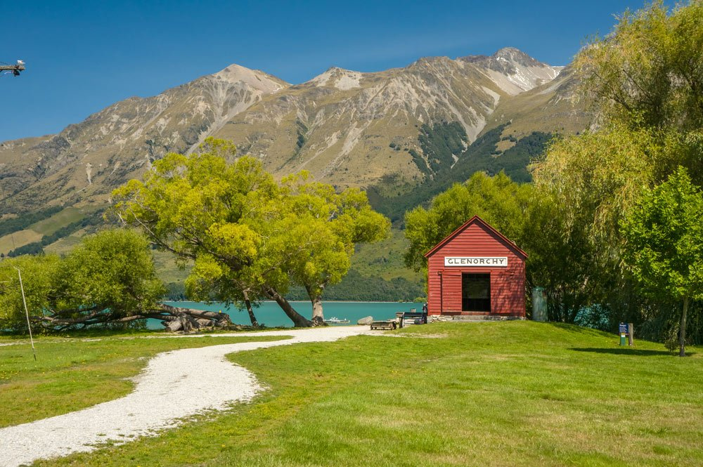 South Island Coach tour
