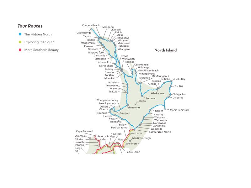 North Island Tour - Unique Holiday Tours - New Zealand Tours